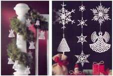 Crochet Pattern fr Eight Designs of Christmas Tree/Window Decorations 1292/24-31