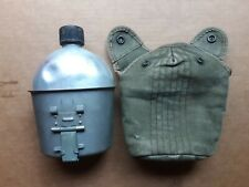 Original Vietnam Us Army Usmc Military Issue Canteen W/Cover and Cup 1962/63