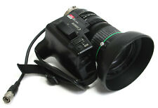 Canon YH13x7.5 KRS IX12 CCD 13x Macro Broadcast TV Zoom Lens 1:1.4 / 7.5-97.5mm