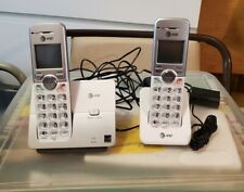 AT&T EL51203 DECT 6.0 Phone with Caller ID/Call Wait, 2 Cordless Handsets Silver