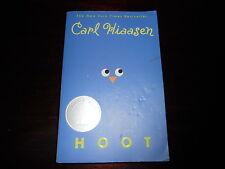 Hoot by Carl Hiaasen Newbery Honor homeschooling softcover book