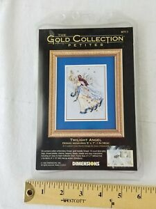 "Dimensions Gold Collection Counted Cross Stitch Kit 11/""X16/""-In Her Garden-18 Ct"