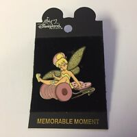 DLR - Tinker Bell on Pink Spool Disney Pin 5276