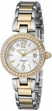 Invicta Womens Angel Analog Display Swiss Quartz Two Tone Watch