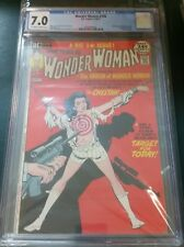 WONDER WOMAN 196 CGC 7.0 BONDAGE COVER, Cheetah  appear.  & WW origin, Giordano
