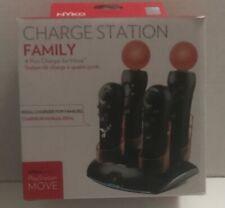 NYKO Charge Station | 4 Port Charger for PlayStation Move Controllers  83084-A50