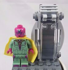 LEGO VISION MINIFIG marvel figure minifigure 76067 avengers with Chamber