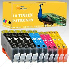 10x Nicht-OEM Druckerpatronen alternative für HP Photosmart e-All-in-One 5520