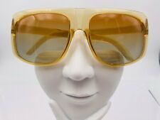 Vintage Cool Ray 301 Yellow Translucent Aviator Sunglasses Frames