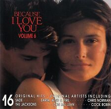 BECAUSE I LOVE YOU VOL. 6 / CD (COLUMBIA COLLSP 982870 2)