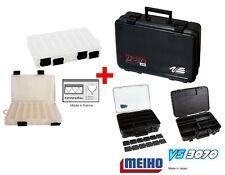 Meiho Versus VS-E 6550 Umhängetasche Angelkoffer Zubehörbox