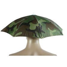Faltbare Sonnenschirm Regenschirm Hut Angeln Camping Mütze Kopfbedeckung