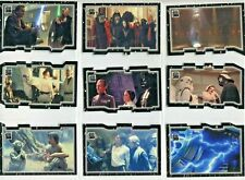 Star Wars 30th Anniversary 27 trading cards complete triptych chase set