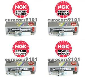 Fiat 500 NGK Spark Plugs 7563 101905606A Set of 4