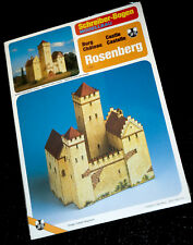 Schreiber modellbau arco > castillo Rosenberg 1:120 OVP sellados 70er años