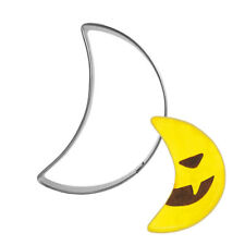 Halloween Moon Shape Stainless steel Cookie Cutters DIY Decor Baking Mould Molds