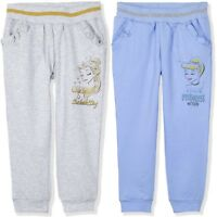 Disney Princess Girls Warm Trousers Joggers Bottoms Pants 95% Cotton 2-6 yrs