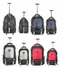 Executive Wheeled Business Mobile Office Laptop Cabin Luggage Rucksack Backpack