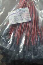 Lumex SSI-LXH55SID-150 panel mount LEDs 100pcs red square prewired