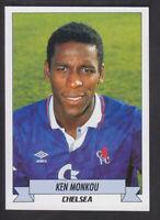 Panini - Football 93 - # 43 Ken Monkou - Chelsea