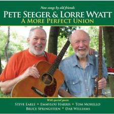 Pete Seeger & Lorre Wyatt  - A More Perfect Union (NEW CD) Bruce Springsteen