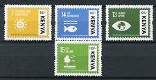 Kenya 2017 MNH UN United Nations Sustainable Development Goals 4v Set Stamps