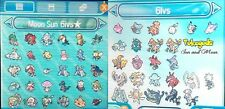ALL 55 Competitive Alola, 6IV EVS Trained Pokemon Sun Moon