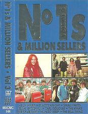 NO 1's & MILLION SELLERS V3 KINKS FACES LOVIN SPOONFUL CASSETTE ALBUM  POP ROCK