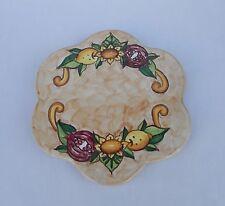 sottopentola a fiore in ceramica di Vietri realiazzata a mano con decoro AUSTRIA