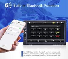 "7"" Dash 2Din Car Stereo MP5 Player GPS Navi US MAP Bluetooth AUX USB+Camera"