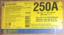 Square D Circuit Breaker Enclosure Ik250Awk New 250 Amp N3R/12