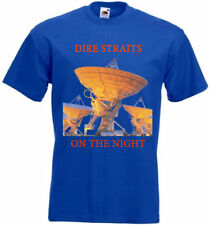 Dire Straits On The Night T-shirt blue poster all sizes S...5XL