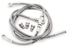 HONDA 1980-82 CB 900 F SUPERSPORT GALFER STAINLESS STEEL FRONT BRAKE LINE KIT
