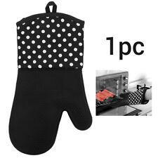 1Pcs Mitten Heatproof Kitchen Microwave Oven Glove Insulated Non Slip Thickening