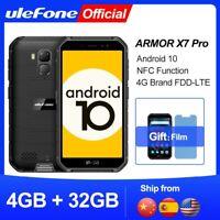 Ulefone  Téléphone portable Armor X7 Pro Android 10 avec 4 Go de RAM, smartphon