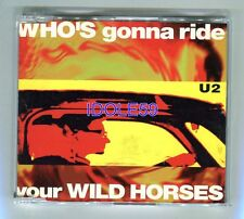 U2, who's gonna ride your wild horses, Maxi CD France