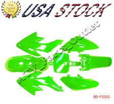 Green Plastic Fairing Fender Kit for Honda XR50 CRF50 125 SSR SDG 107 Pit Bike