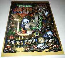Slinky~Ernie Ball~Promo Poster~13x18~Nm Condition~The Golden Grail of Tone