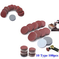 Universal 100Pcs Auto Car SUV Polishing Discs Sanding Pads Sandpaper Set Durable