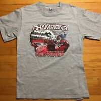NHL Detroit Red Wings 2008 Stanley Cup Champions Shirt Men's Medium