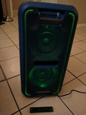 Sony Blue GTK-XB7LC High Power Home Audio System with Bluetooth w/remote