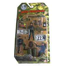 World PeaceKeepers Ranger Figure 3 Pack Toy Army Soldiers Figures 3+ Years