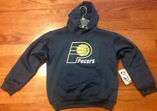 NWT! Indiana Pacers Youth Medium Hooded Sweatshirt By Majestic