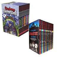Goosebumps HorrorLand Series & Scream Street Collection 23 Books Set Pack NEW