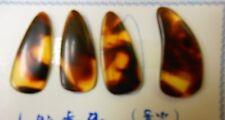 High Quality Guzheng Finger Picks with Grooves, Gu Zheng Nails