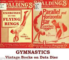 Gymnastics Acrobatics Tumbling Collection of Vintage Books on Data Disc