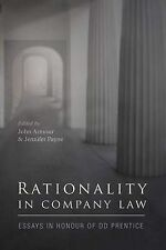 Rationality in Company Law; Hardback Book; Armour John; 9781841138060, N/A