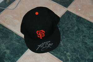 MADISON BUMGARNER signed new San Francisco Giants baseball cap AUTO 59Fifty