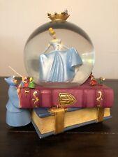 DISNEY Cinderella * Fairy Godmother * Step Sisters Snowglobe * Music Box * RARE