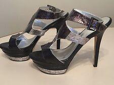 Baker's Women's High Heel Platform Stiletto Open Toe Shoes Size 9.5 NEW